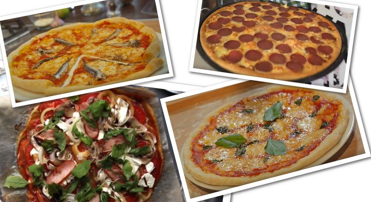 """Пицца с салями и перцем пепперони """"как в италии"""""""