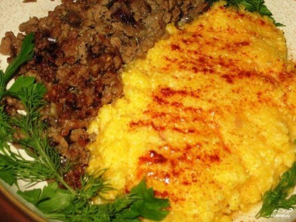 Абыста - мамалыга по-абхазски, рецепт с фото из кукурузной муки