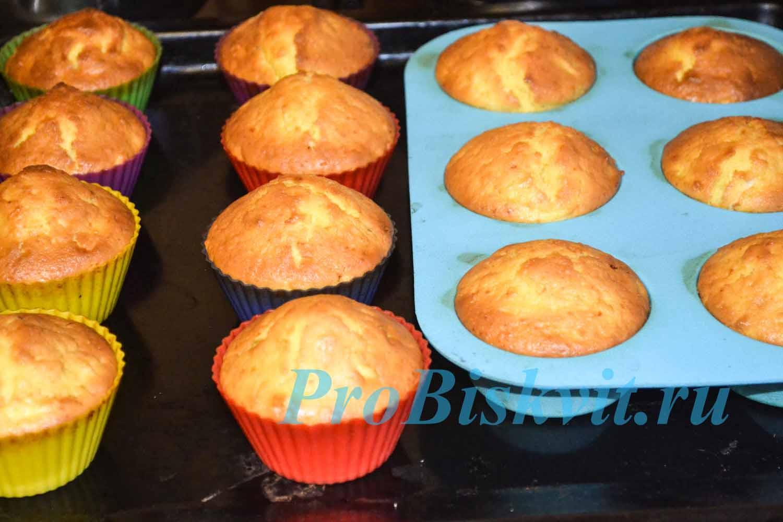 Пошаговый рецепт приготовления кекса на сметане с фото