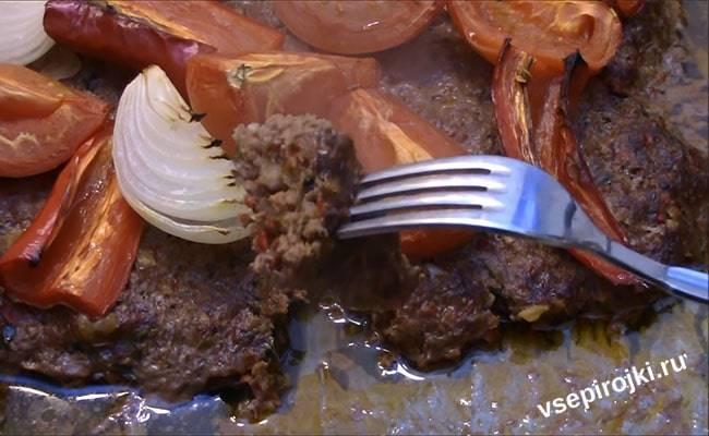 Люля кебаб в духовке рецепты приготовления
