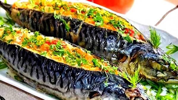 Удивительно вкусная маринованная скумбрия в томатном соусе - пальчики оближешь