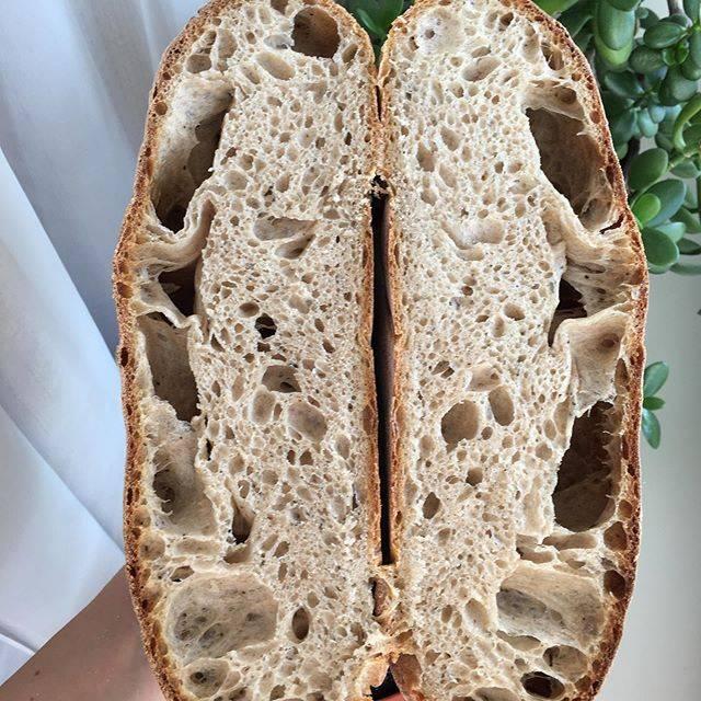 Ирландский зерновой хлеб с отрубями