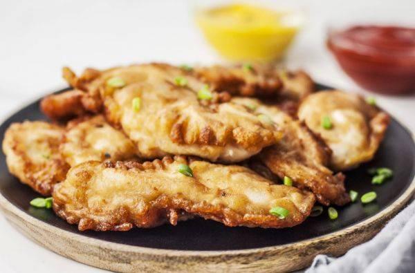 Курица в кляре - рецепт с фото