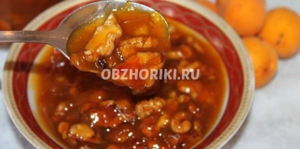 Ореховое варенье - восхитительно вкусное и полезное лакомство