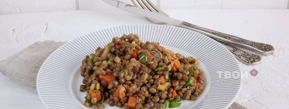Чечевица с овощами | мои рецепты