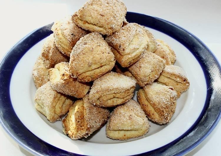 """Печенье """"лапки"""" - пошаговый рецепт с фото на повар.ру"""