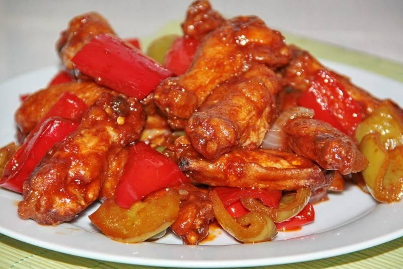 Куриное филе в кисло-сладком соусе по-китайски