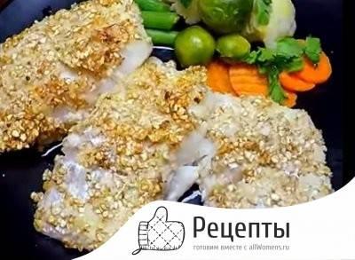 Как приготовить вкусную панировку для рыбы за 3 минуты