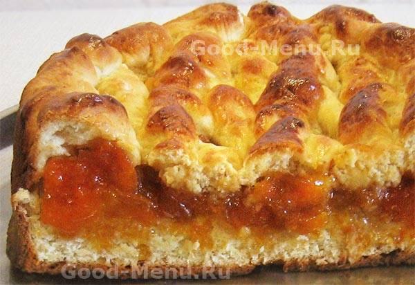 Пироги с начинкой из яблочного варенья
