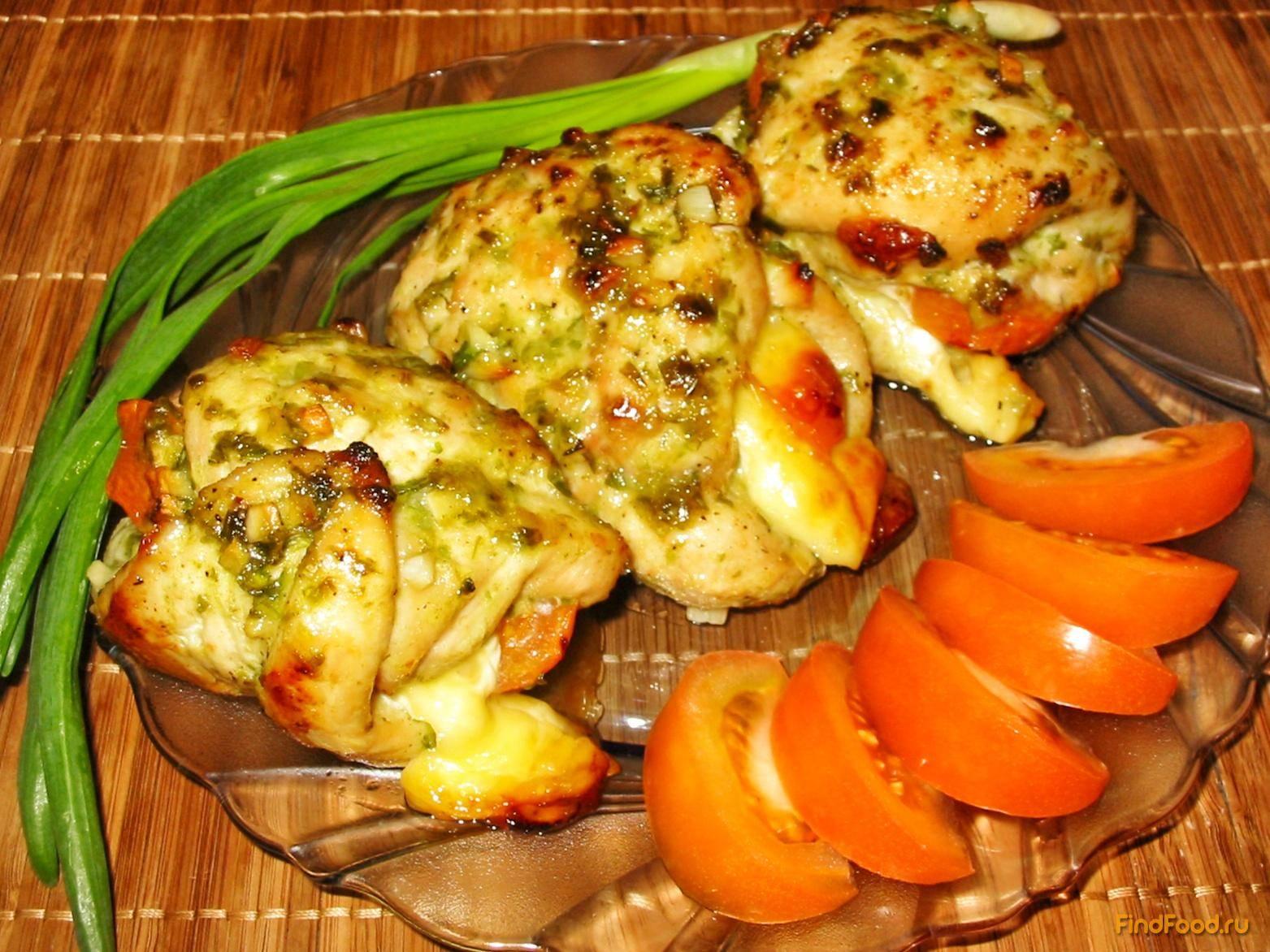 Грудка куриная фаршированная — 3 рецепта: с творогом; грибами и овощами