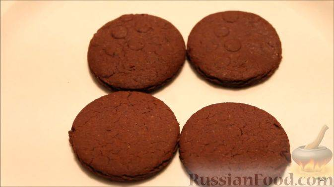 """Шоколадное печенье """"орео"""""""