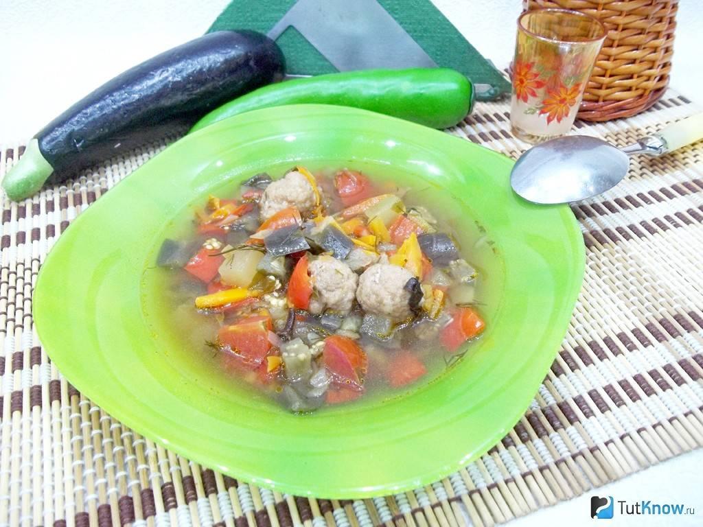 Суп с фрикадельками - 5 самых вкусных пошаговых рецептов с фото