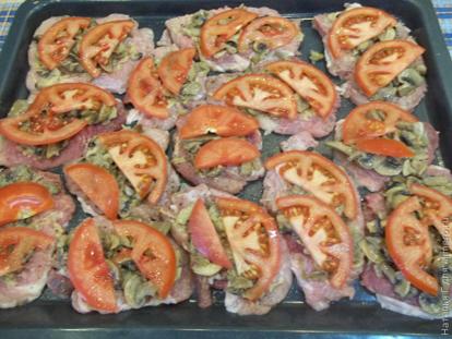 Пошаговый рецепт приготовления отбивных из свинины в духовке