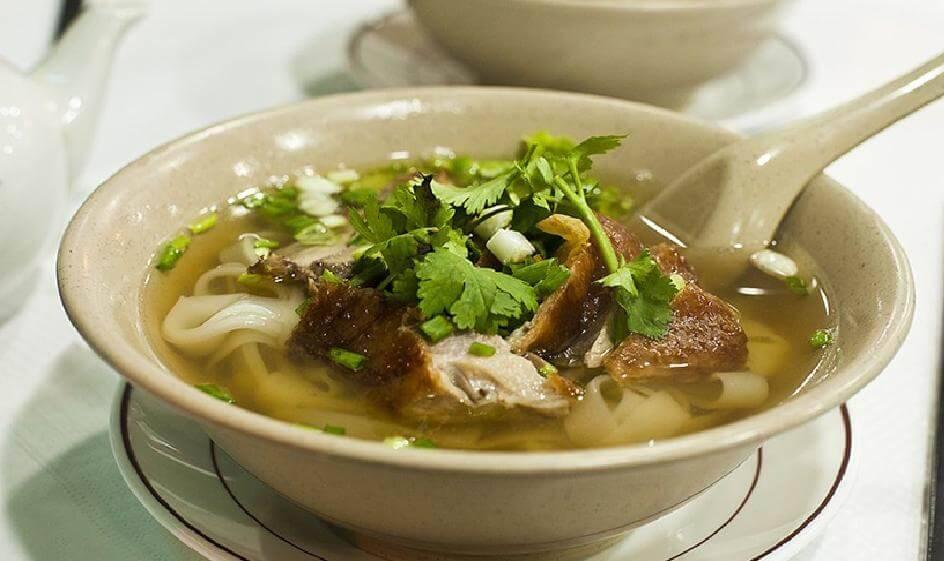 Суп из домашней утки - 7 пошаговых фото в рецепте