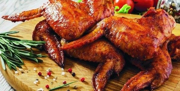 Куриные крылышки в медово-соевом соусе — 5 пошаговых рецептов