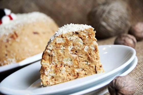 Торт из печенья и сгущенки: вкусные пошаговые рецепты с фото