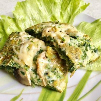Фриттата со шпинатом, запеченная в духовке - пошаговый рецепт с фото на сайте банк поваров