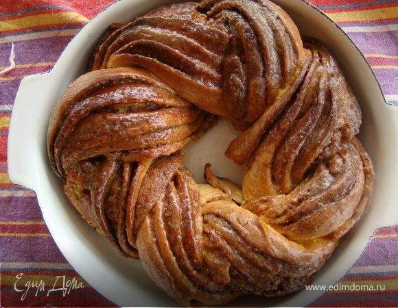 Коса с корицей или сладкий хлеб