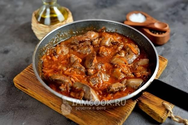 Рецепт приготовления гречки с печенью