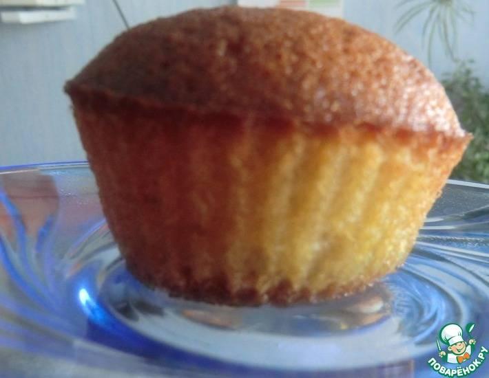 Вкуснейшие кексы на йогурте — кулинарные рецепты любящей жены