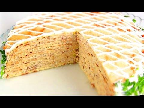Домашний блинный торт: 8 сладких рецептов