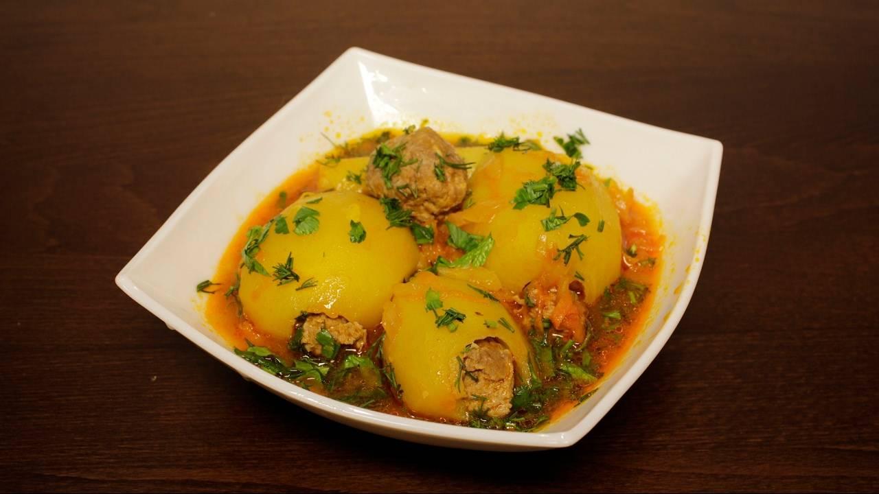 Фаршированная картошка – 6 рецептов, как приготовить в духовке и в мультиварке