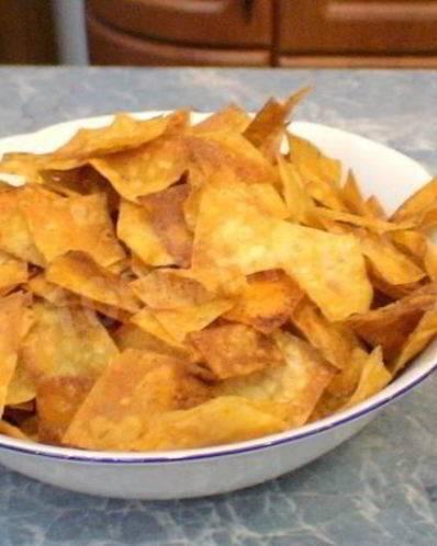 ️домашние чипсы из лаваша в духовке