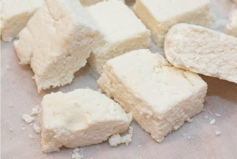 Приготовление сыра панир в домашних условиях