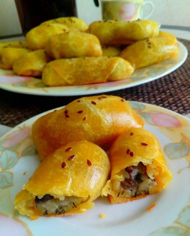 Готовим пирог с картошкой и грибами в духовке (и не только) – 8 пошаговых рецептов