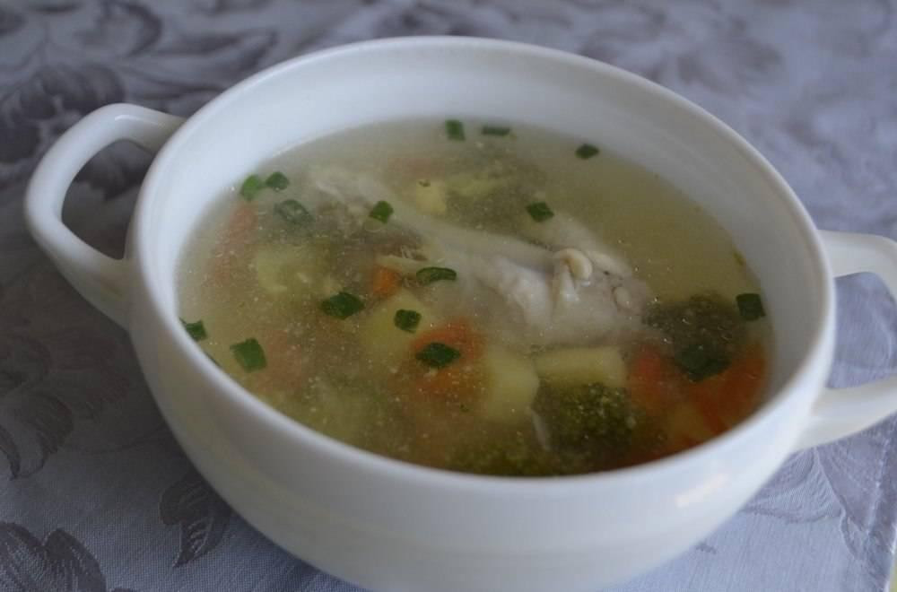 Суп с куриными крылышками - как приготовим