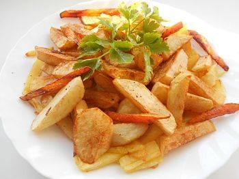 Соус для картошки фри с чесноком и сыром