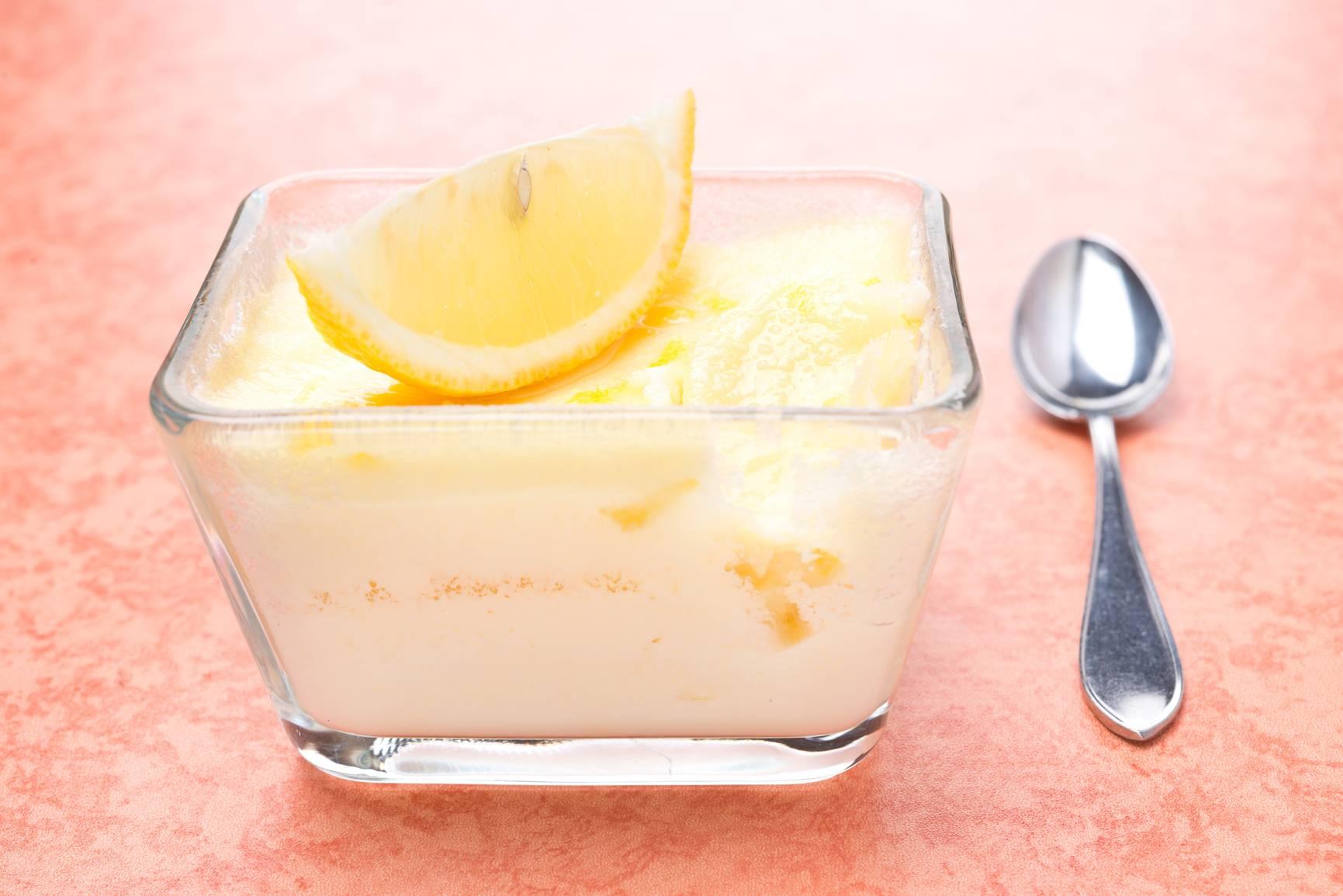 Шоколадно-лимонное суфле