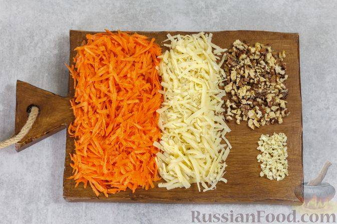 Поиск по запросу «простой салат с добавлением грецких орехов»