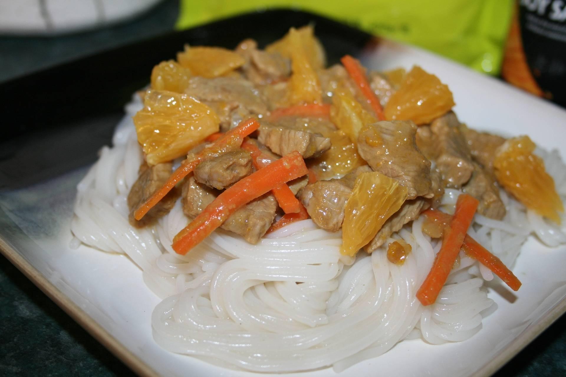 Стир-фрай с говядиной и овощами