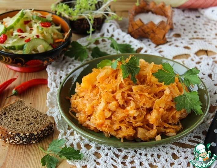 Тушеная капуста с рисом: 7 интересных рецептов |