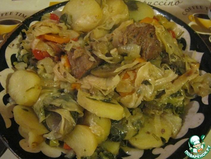 Домляма - рецепты по-узбекски в казане и на плите, с курицей, говядиной и без мяса