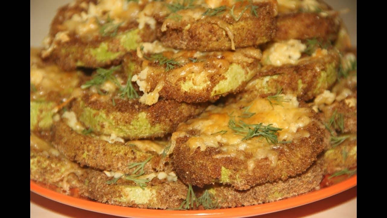 Кабачки в сырном кляре на сковороде - 10 пошаговых фото в рецепте