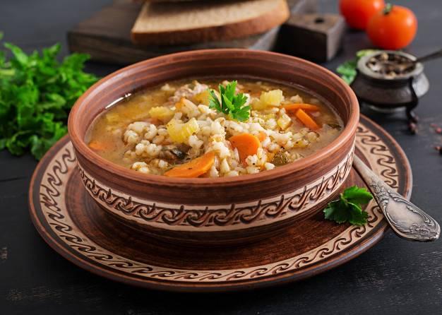 Кухня пегано. супы. часть 3