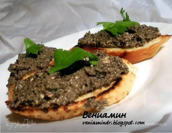 Брускетта с маслинами и фетой: рецепт и фото