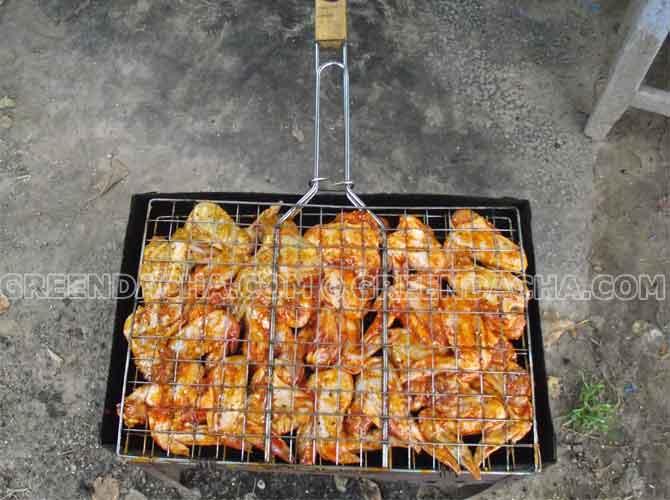 Как приготовить куриные крылышки в духовке, на мангале, на гриле, во фритюрнице