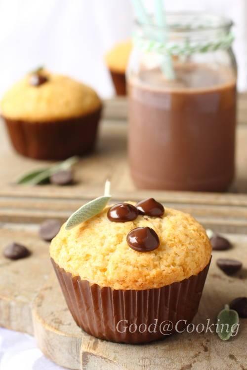 Кекс с шоколадными каплями