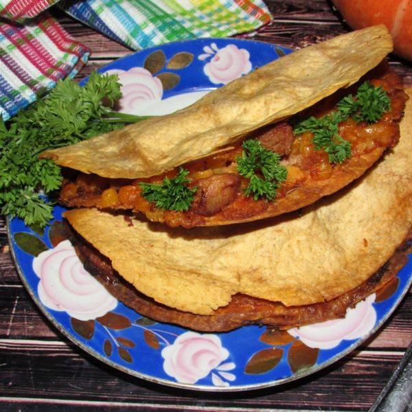 Как приготовить мексиканские тако - wikihow