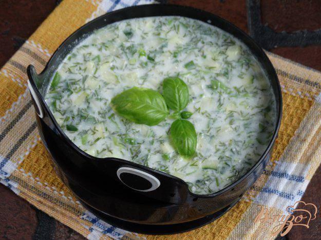 Рецепты огуречный суп