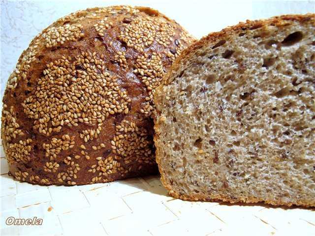 Польза и вред хлеба с семенами льна, семечками, тмином