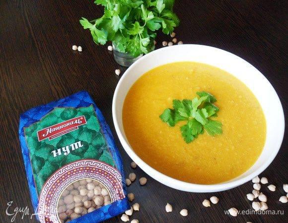 Чечевичный суп-пюре с беконом - вкуснее не бывает