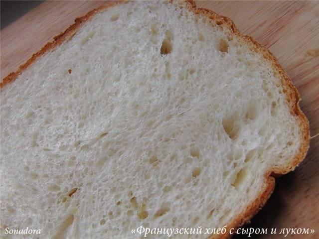 Как испечь французский хлеб в хлебопечке