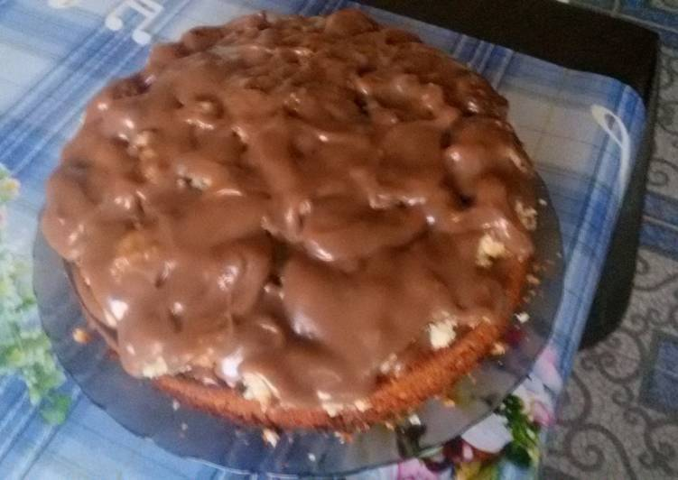 Пирог на майонезе