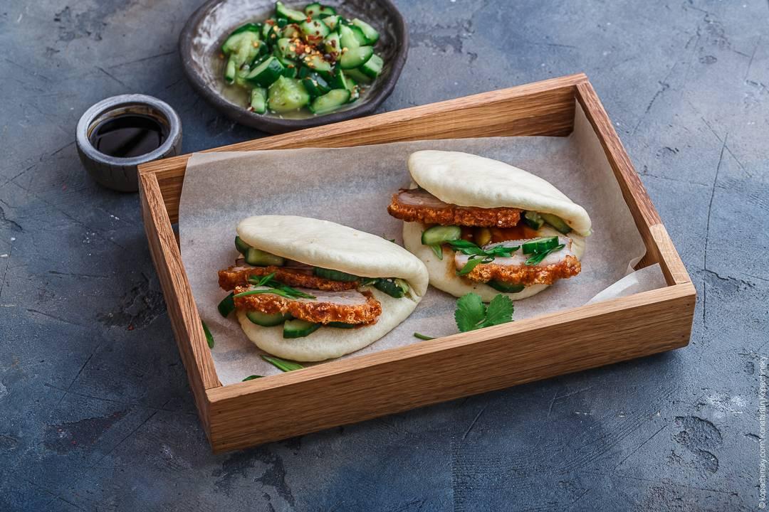 Китайские паровые булочки: пошаговый рецепт с фото