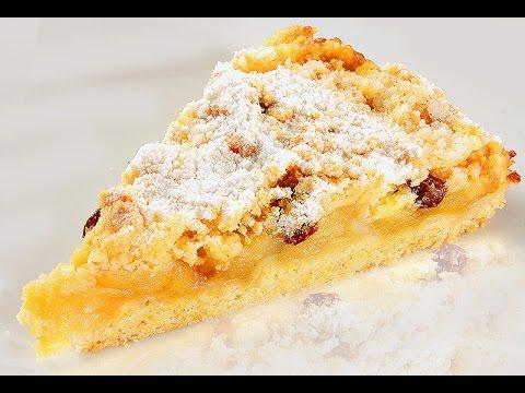 Пошаговый рецепт приготовления яблочного крамбла с фото