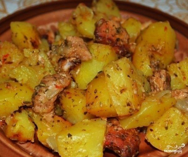 Картошка в горшочках
